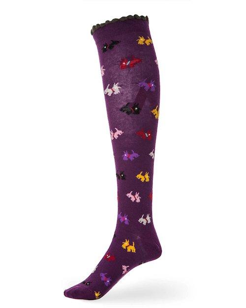 Scottie Knee Sock in Purple