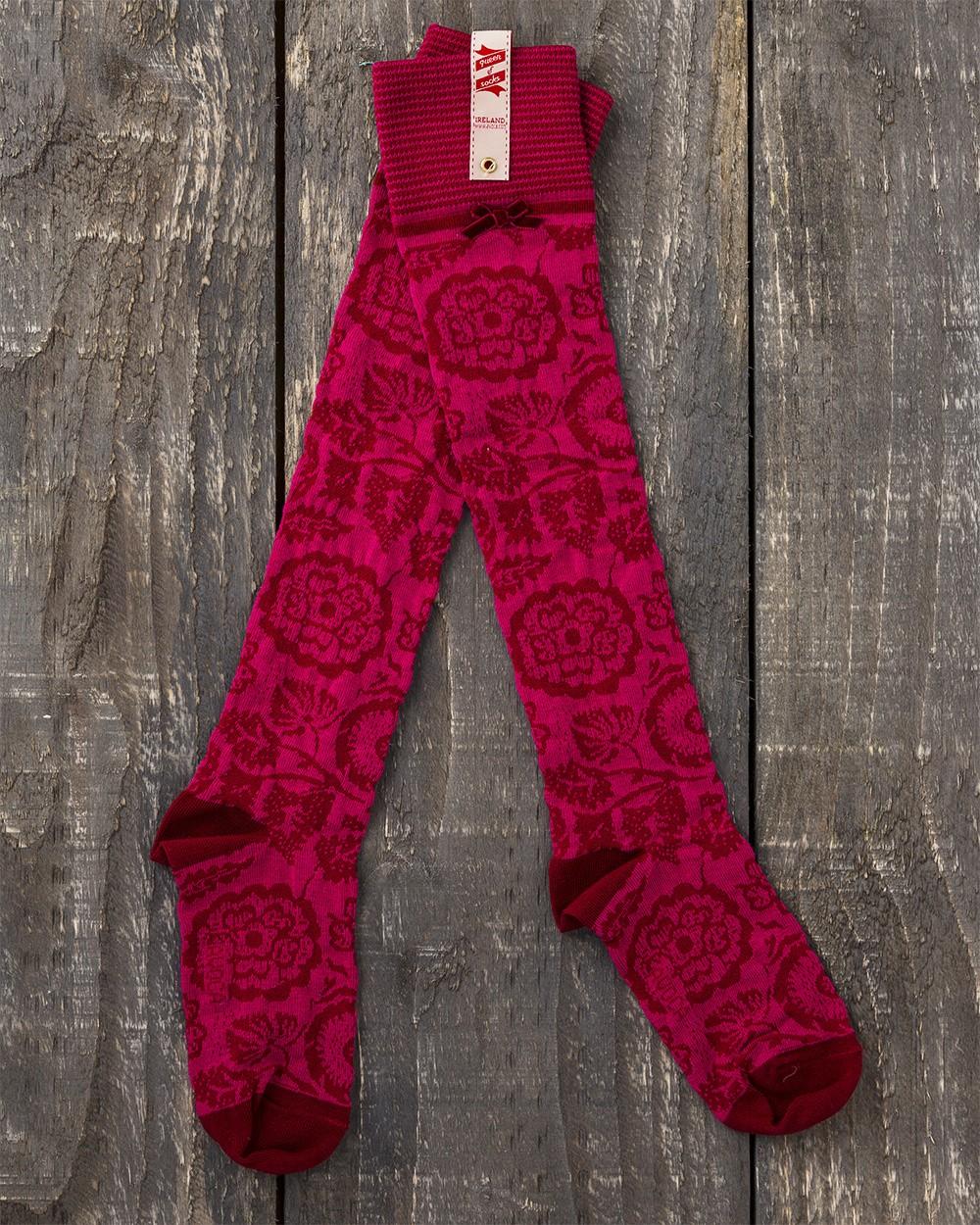 Florabunda Knee Sock