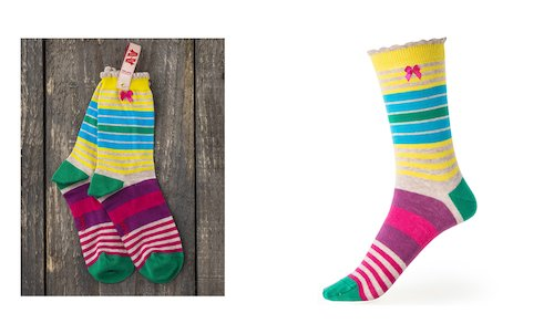 Guatamala Stripe Ankle Sock
