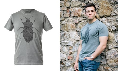 Bug T-Shirt - Grey