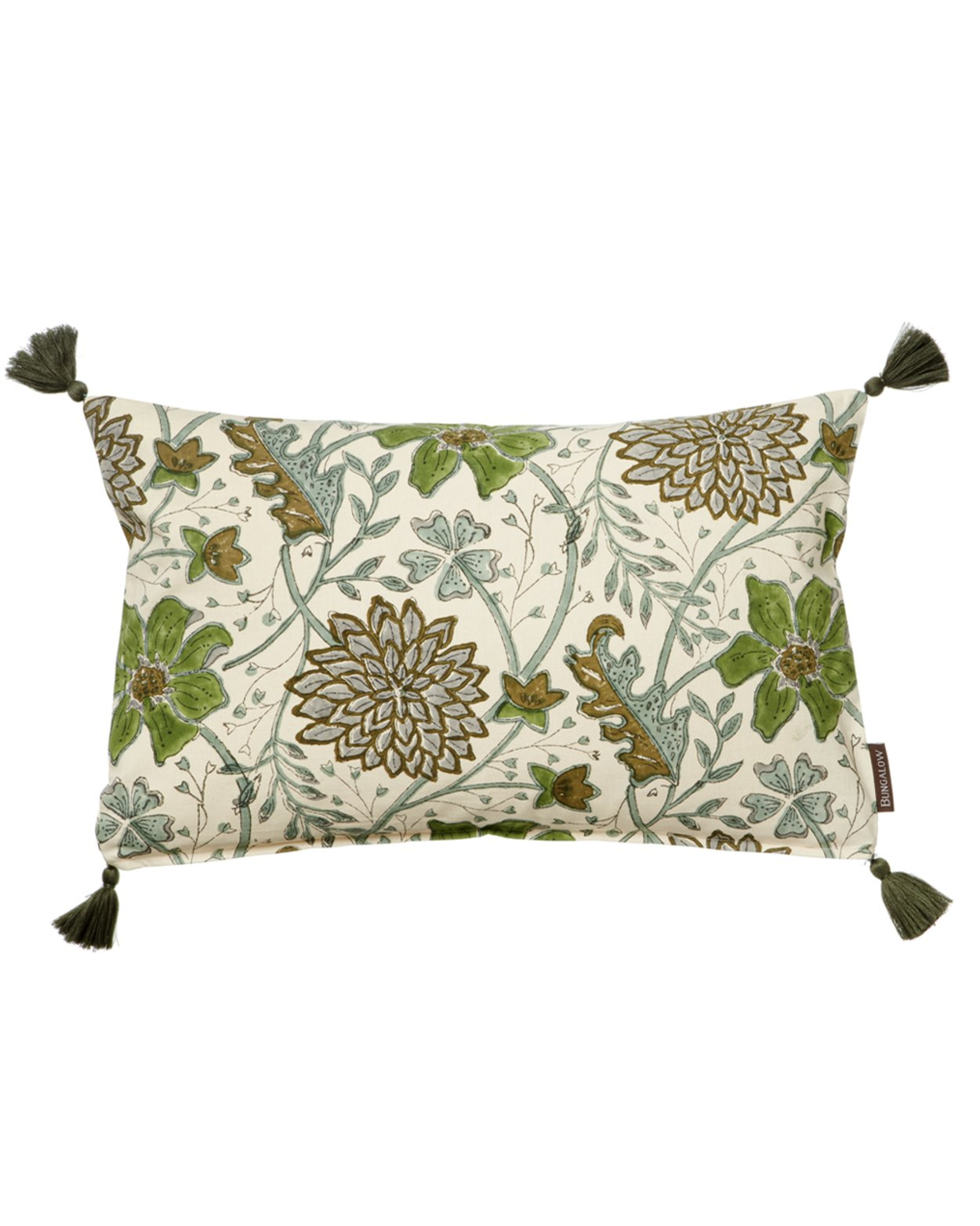 Sitapur Moss Cotton Cushion Cover