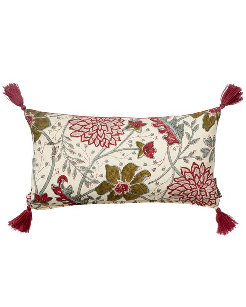 Sitapur Salsa Cotton Cushion Cover