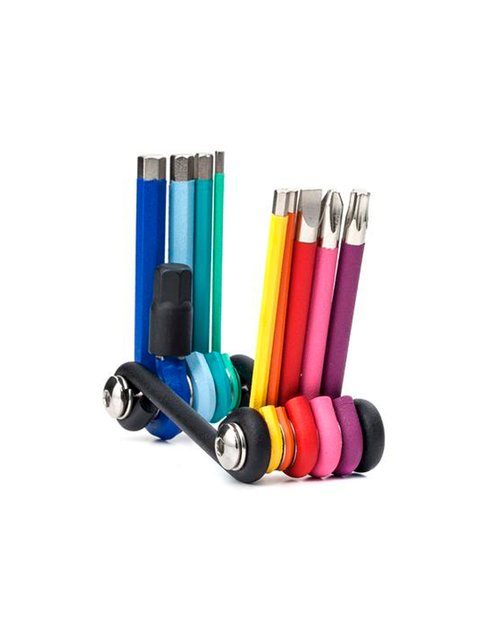 Rainbow Multi Tool Set