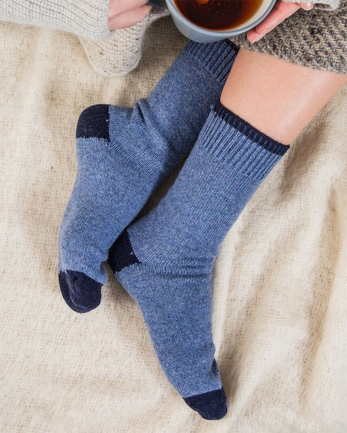 Cosy Toes Cashmere Blend Socks