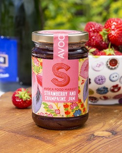 Strawberry and Champagne Jam