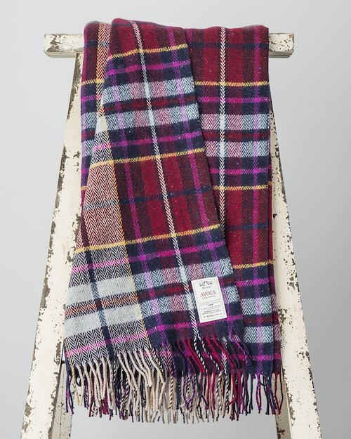 Wine & Bordeaux Donegal Throw
