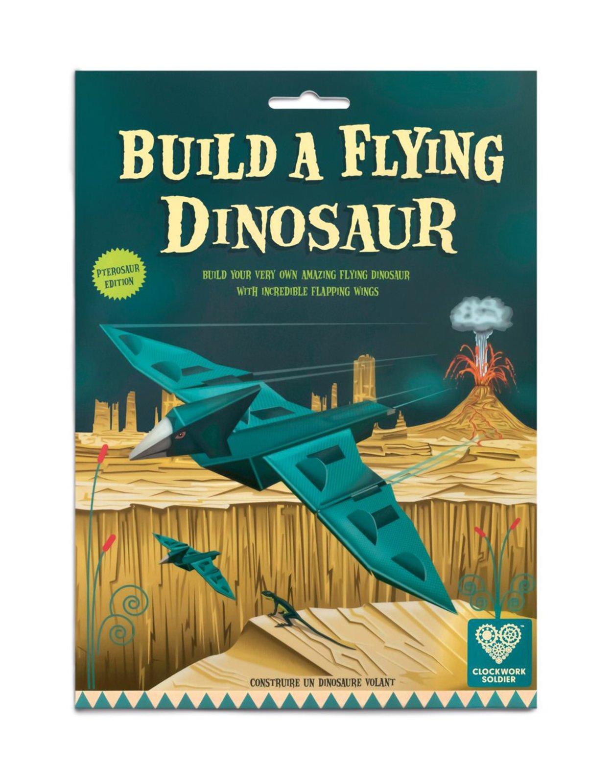 Build A Flying Dinosaur