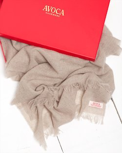 100% Cashmere Autumn Solids Scarf