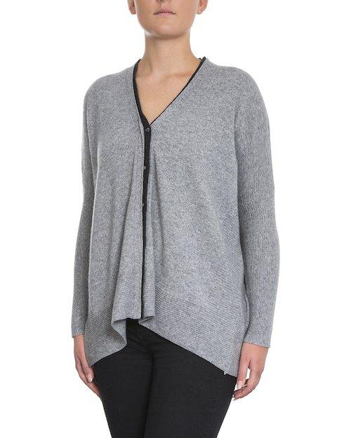 Ellen Cardigan in Light Grey