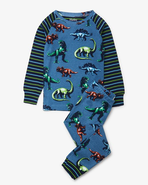 Painted Dinos Pajama Set