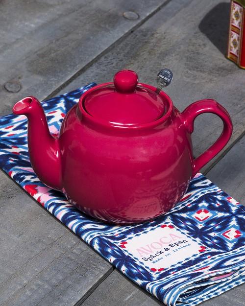 Farmhouse Teapot In Rose