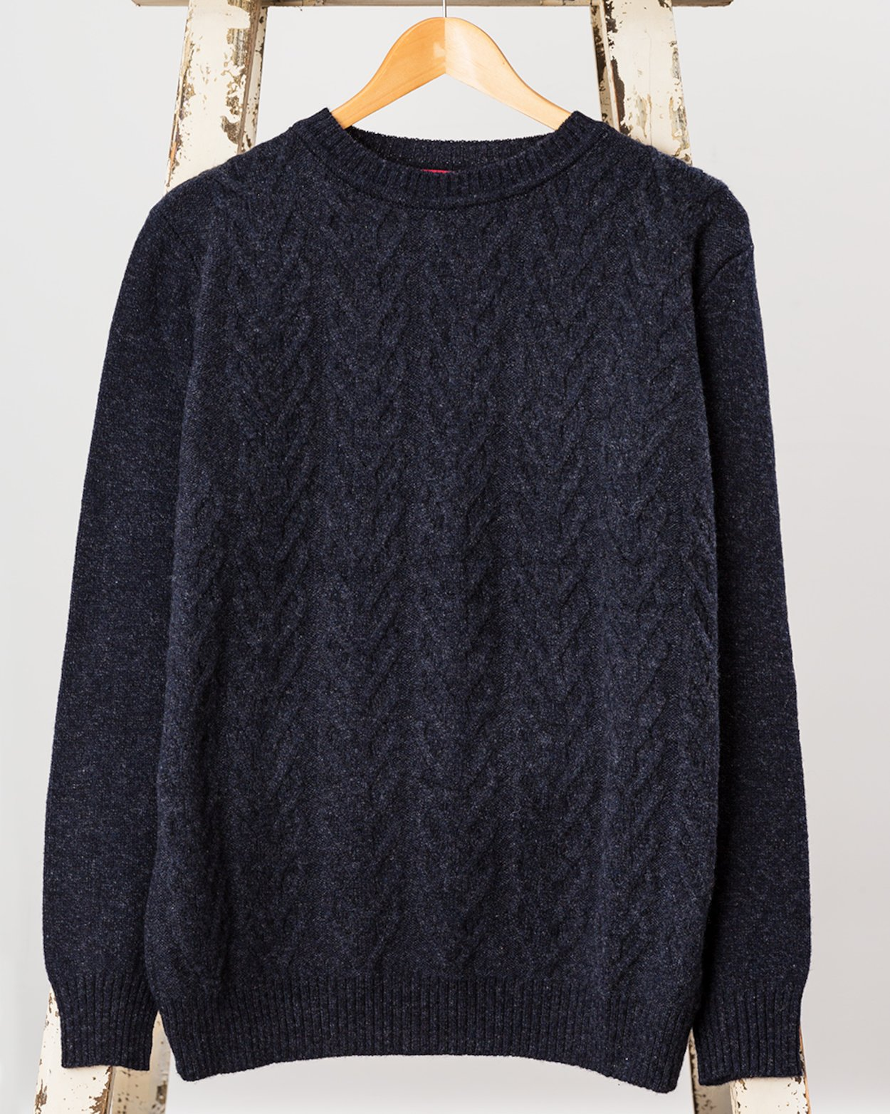 Fisherman Cable Knit Sweater - Mens Clothing | Avoca ®