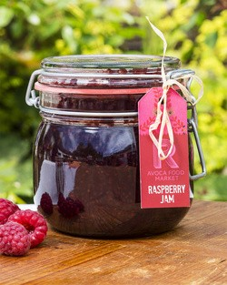 Raspberry Jam in Parfait Jar