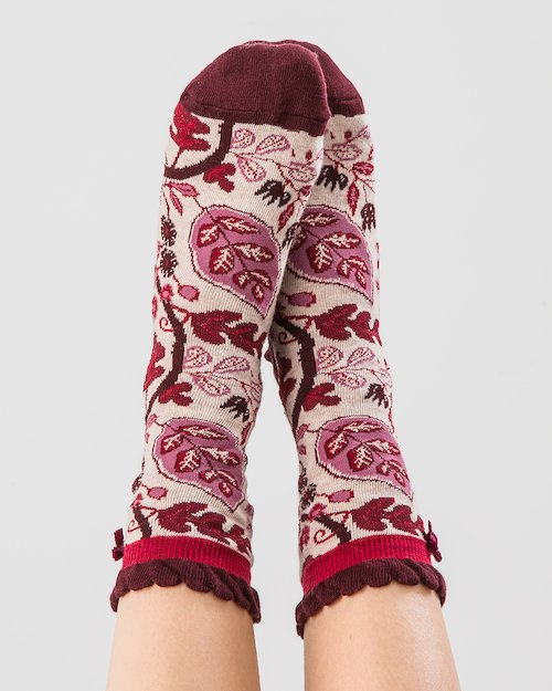 Fruiting Vine Ankle Socks