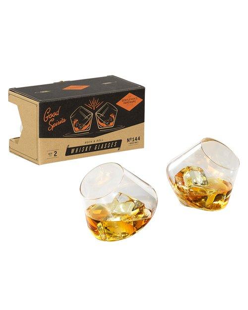 Rock & Roll Whisky Glasses