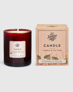Grapefruit & May Chang Scented Soy Candle