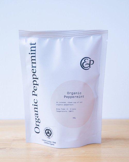 Organic Peppermint Loose Leaf Tea
