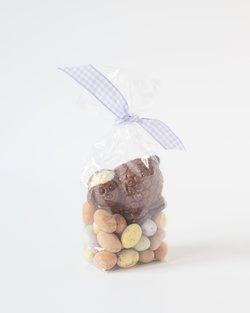Milk Chocolate Lamb with Speckled Milk Chocolate Mini Eggs
