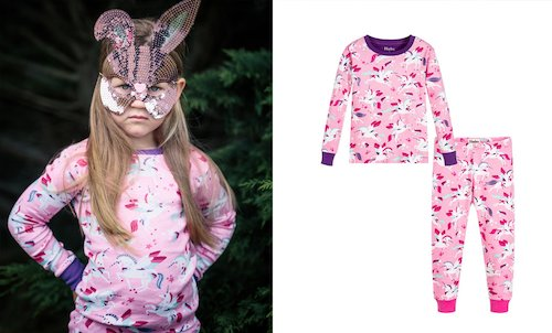 Hatley PJs Pink Unicorns