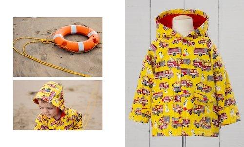 Hatley Firetruck Raincoat
