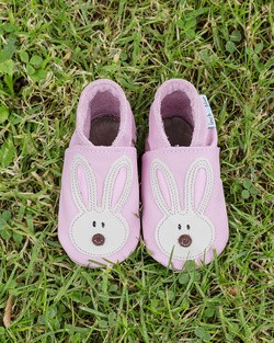 Inch Blue Flopsy Bunny Baby Shoes