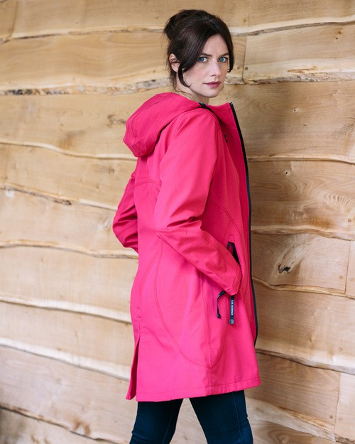 Ilse Jacobsen Raincoat in Sweet Rose