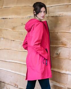 Ilse Jacobsen Raincoat in Sweet Rose