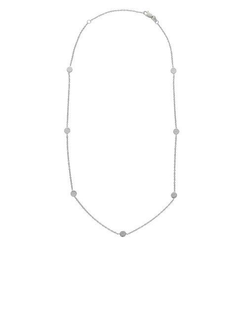 Short Silver Luna Necklace