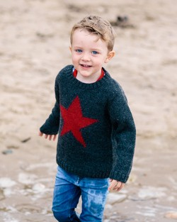 Lambswool Star Jumper