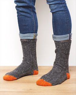 Men's Donegal Wool Socks