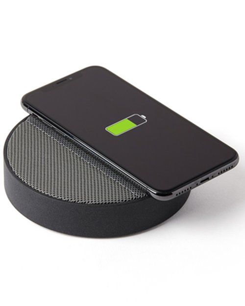 Oslo Energy Wireless Charging Station & Bluetooth Speaker