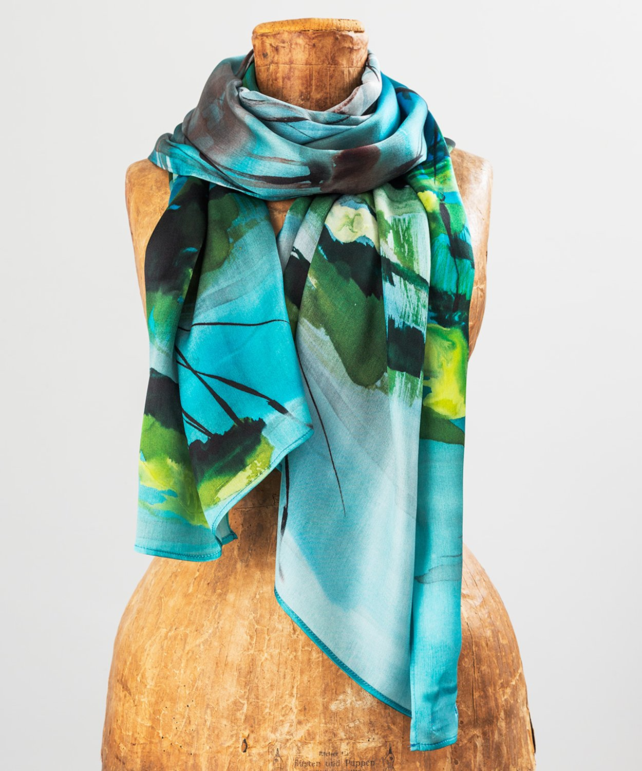 River Vartry Silk Scarf