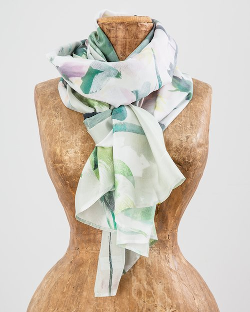River Walk Silk Scarf