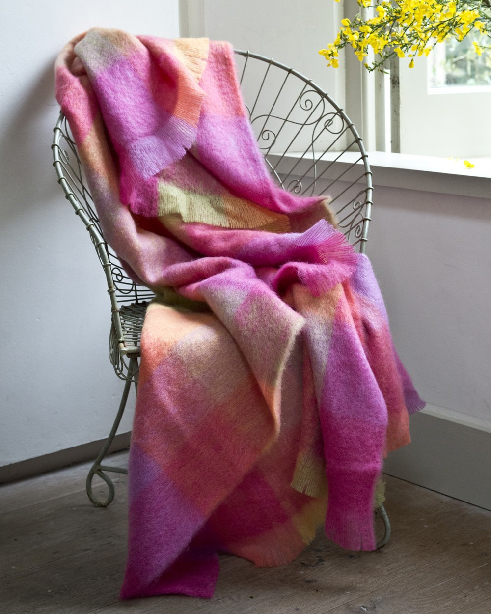 lotus mohair throw mohair throws avoca. Black Bedroom Furniture Sets. Home Design Ideas