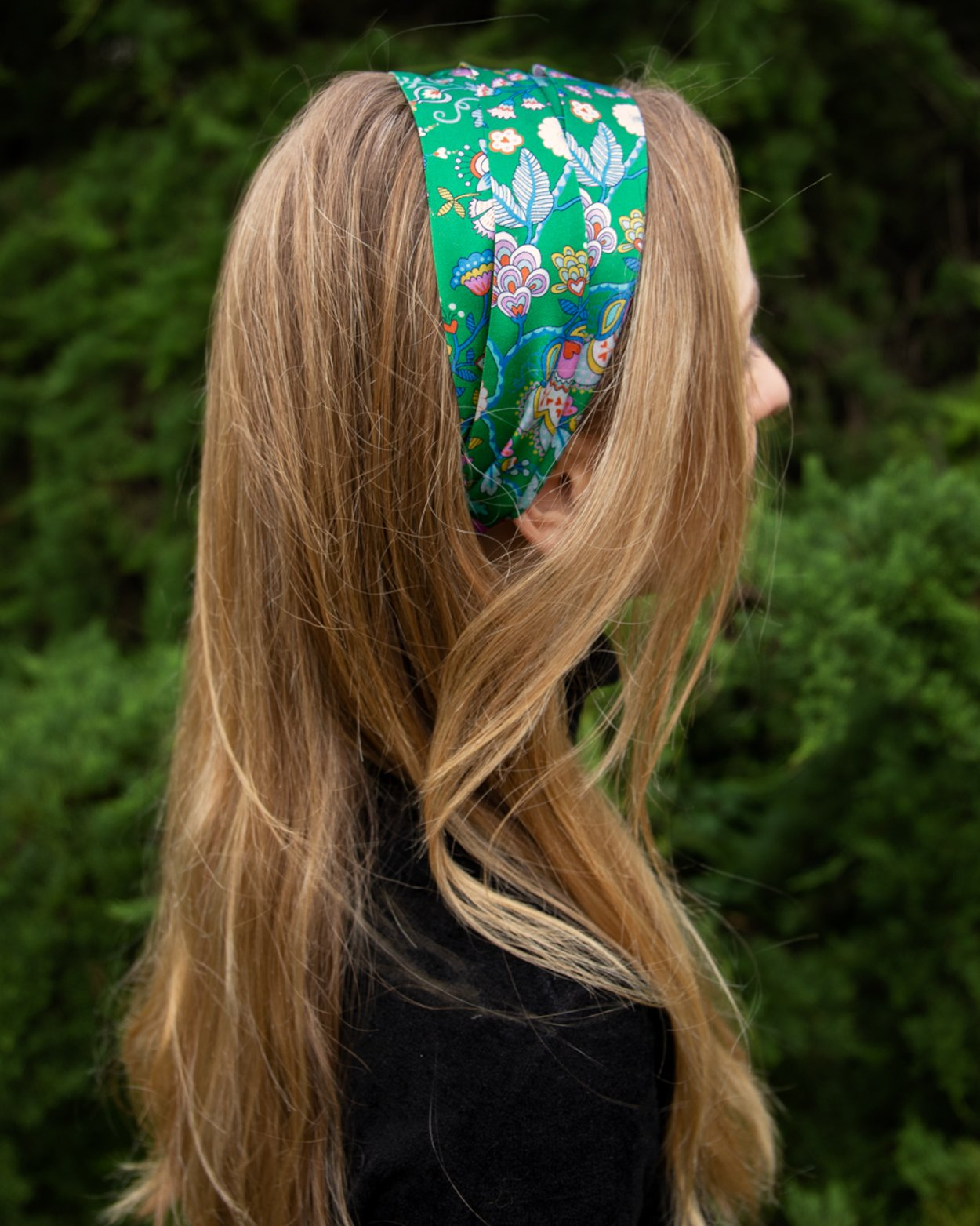 Mabelle Road Silk Scarf