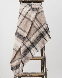 Manhattan Mohair Throw