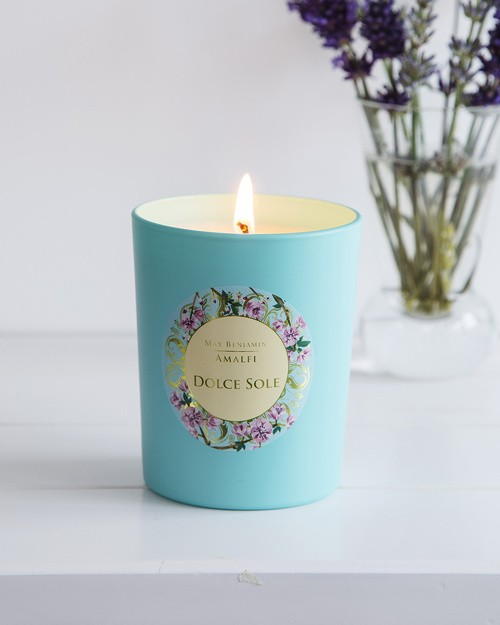 Max Benjamin Amalfi Candle in Dolce Sole Scent