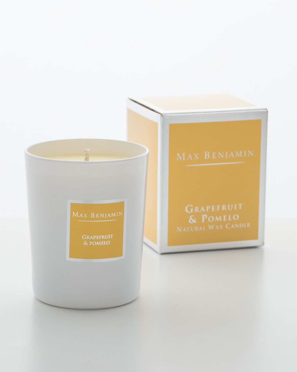 Grapefruit And Pomelo Scented Candle By Max Benjamin ...