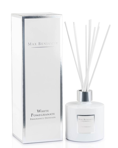 White Pomegranate Diffuser by Max Benjamin
