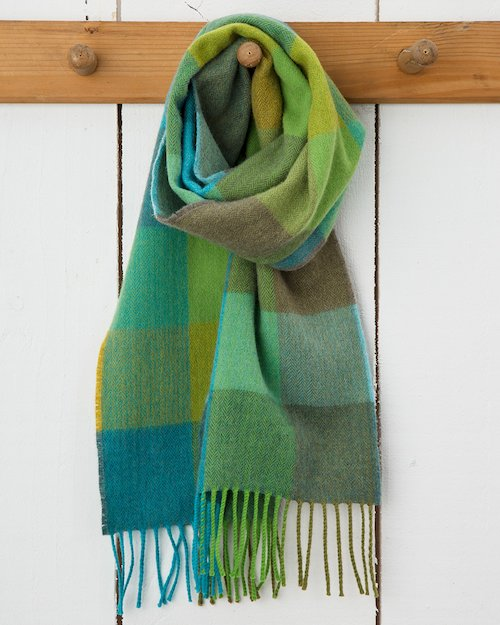 Green Fields Merino Scarf