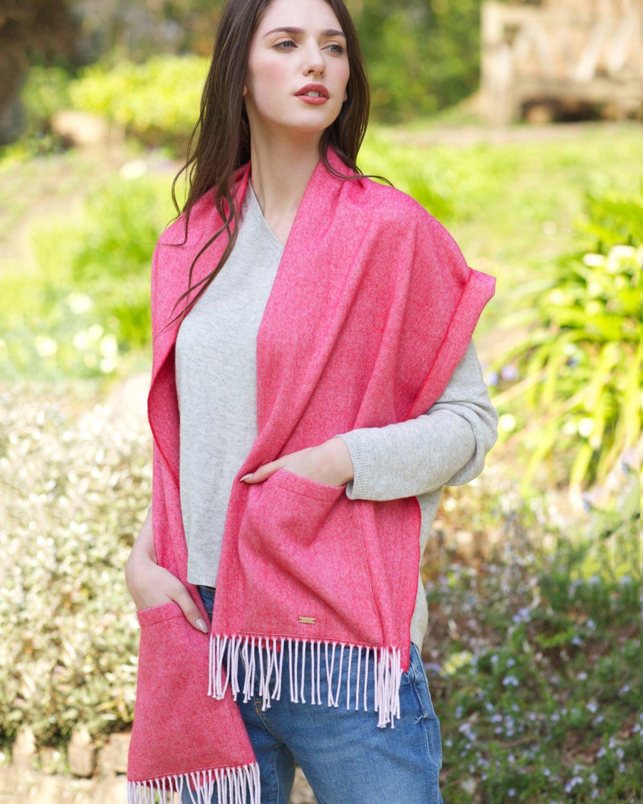 Merino Wool Pocket Wrap