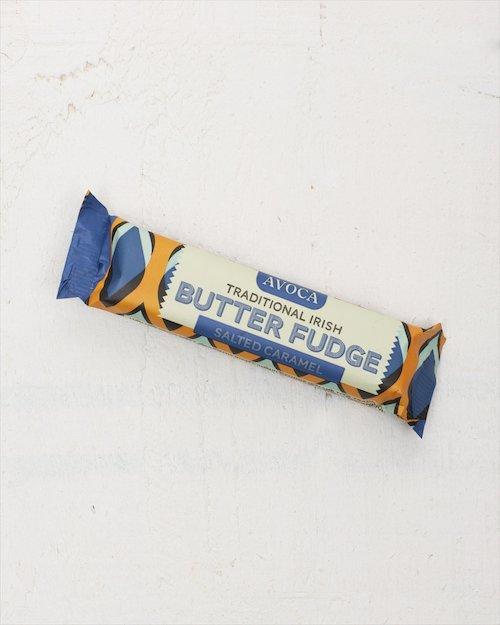Traditional Irish Salted Caramel Butter Fudge Bar