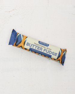 Traditional Irish Salted Caramel Butter Fudge Bar