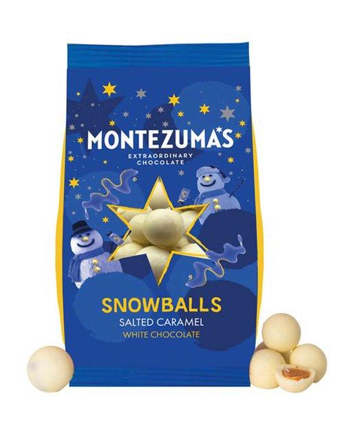 Salted Caramel White Chocolate Snowballs