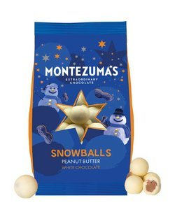 Peanut Butter White Chocolate Snowballs