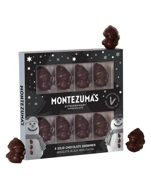 Absolute Black Chocolate Snowmen