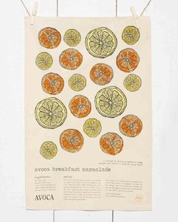 Avoca Marmalade Tea Towel