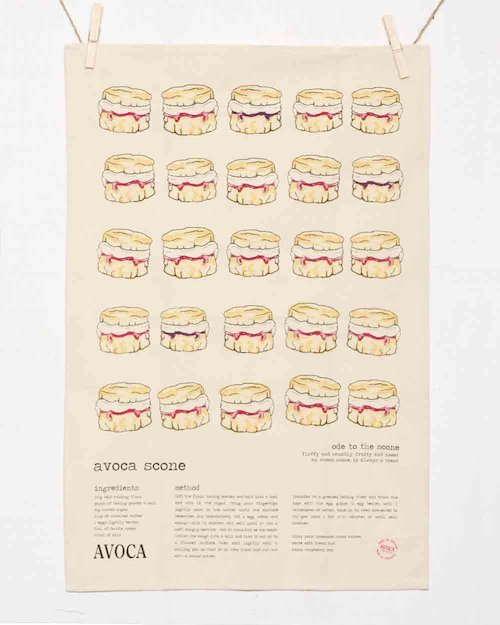 Avoca Scone Tea Towel