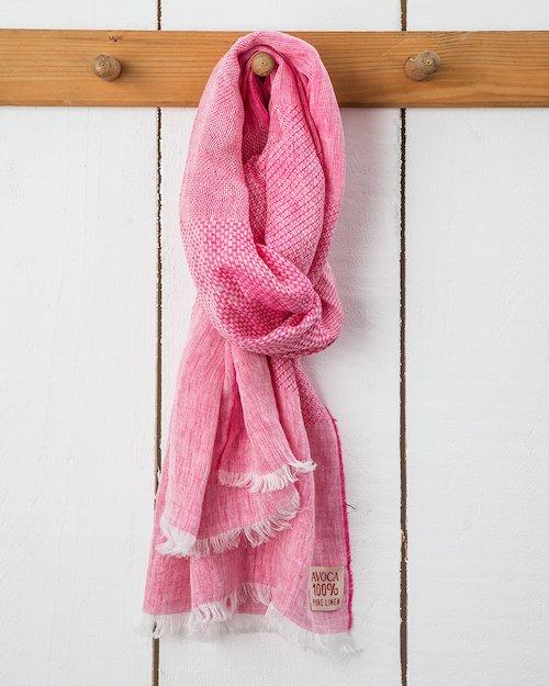 Multi Weave Linen Scarf