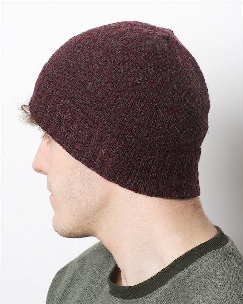 Yak & Cashmere Honeycomb Hat